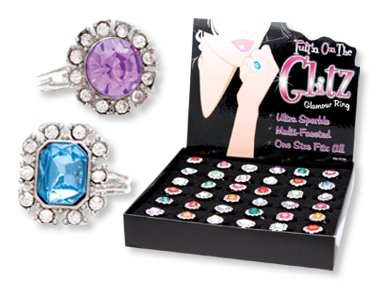 Glitz And Glamour Costumes (Putt'n On The Glitz Glamour Rings (Sold Individually))