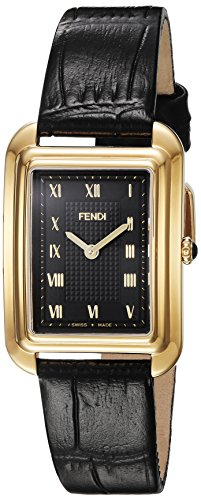 fendi-womens-classico-rect-swiss-quartz-gold-tone-and-leather-dress-watch-colorblack-model-f70043101