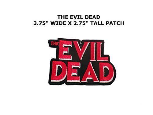 Vintage Halloween Costumes Tumblr (EVIL DEAD TV movie Halloween Costume Embroidered baseball cap Applique LOGO Cosplay Iron On Patch Emo Goth Punk Rockabilly)