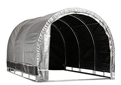 Storage Solutions IS11499HP Lawn & Garden Storage Shelter, 8 by 8 Feet