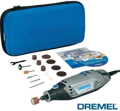 3000-15 Miniutensile rotativo//Minitrapano 130W con 15 accessori Dremel