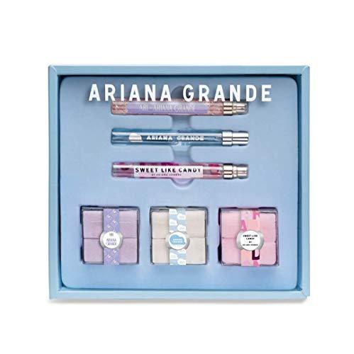 (Ariana Grande Sugar Cube Eau de Parfum Gift Set~ ARI, Sweet Like Candy, Cloud)