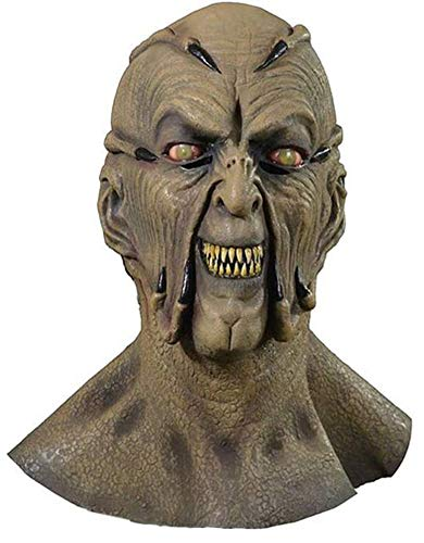 Halloween Mask Movie Quality (Trick or Treat Studios Jeepers Creeper Movie Quality Face Mask for)