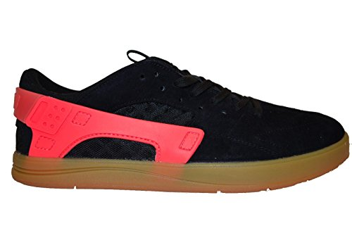 Nike Eric Koston Huarache, Scarpe da Skateboard Uomo black hot lava gum light brown 062
