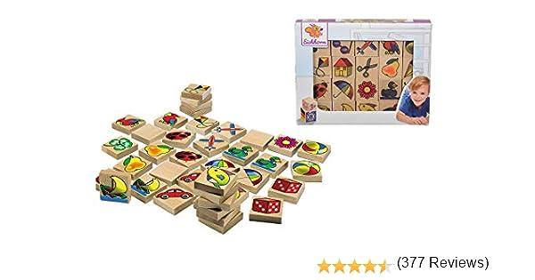 Eichhorn- Juego de Memoria Madera (100072402), Color Multicolor , color/modelo surtido: Amazon.es: Juguetes y juegos