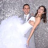 4FTx6FT SPARKLY - SEQUIN Photo Backdrop, Photo Booth, Photography Backdrop, DIY Photobooth, Wedding Backdrop, Sparkle Backdrop, Grad Party, Birthday (Silver)
