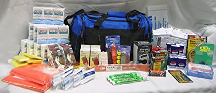 4 Person Perfect Survival Kit Deluxe for Emergency Disaster