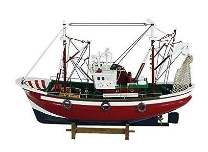 Barca de Pesca, Barco de Pesca, Dos Mástiles Cortador ...