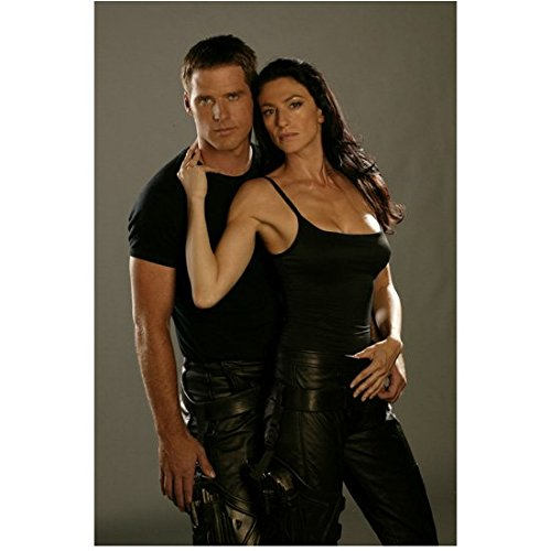 Farscape Ben Browder and Claudia Black Looking Good Together 8 x 10 inch photo