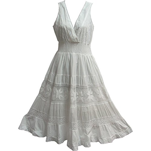 Eyelet Dress - 5