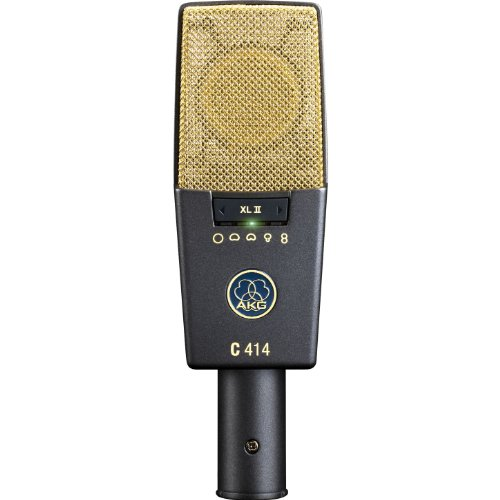 New AKG | High-Performance Reference Multi-Pattern Condenser Microphone for Astounding Sound Quality, C414 XLII with Nine Selectable Polar Patterns and Three Attenuation Levels(-6/-12/-18dB) - Multi Pattern Studio Condenser