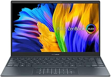 ASUS Zenbook13{2021} (R7-5700U/16GB RAM/1 TB NVMe SSD/Win10+McAfee/Ms Office H&S 2019/13.3-inch FHD IPS OLED/Integrated Radeon Graphic/FP Reader/1.4 kg/Grey/1 Yr.)UM325UA-KG701TS