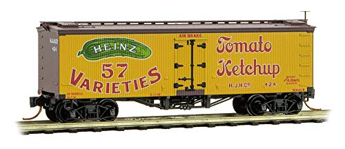 Used, Micro-Trains MTL N-Scale Heinz Yellow Car #2-36ft Wood for sale  Delivered anywhere in USA