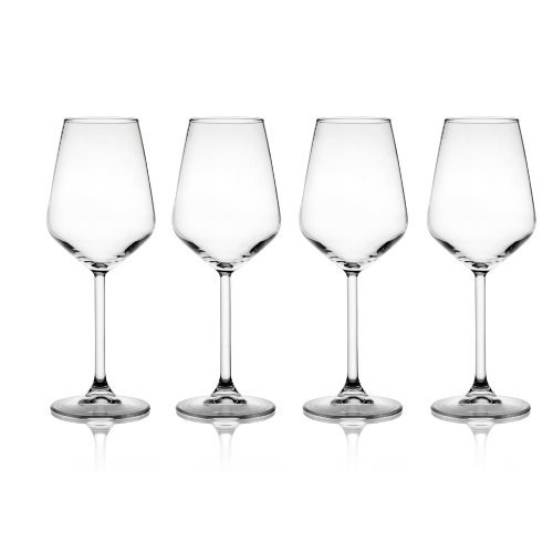 Napa Stemware Wine Glass - Style Setter Napa Wine Goblets, Set of 4