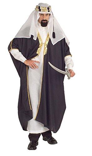 OvedcRay Arab Arabian Sultan Shiek Sheik Desert Prince Adult Mens Costume (Arab Sultan Adult Costumes)