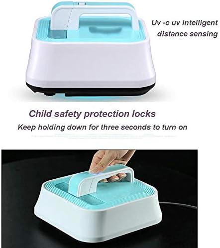 XTMM Aspirateur à ultrasons pour enlever Les acariens Instrument pour éliminer Les acariens Aspirateur de lit Domestique/UV