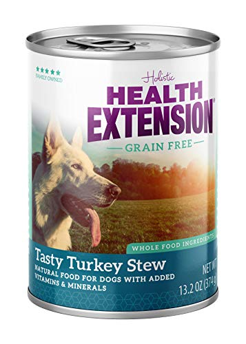 (Health Extension Grain Free Tasty Turkey Stew, 13.2-Ounces, Case Of 12)