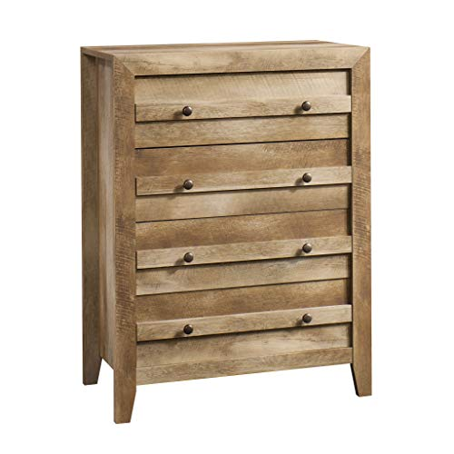 (Sauder 418175 Dakota Pass 4-Drawer Chest, L: 32.68