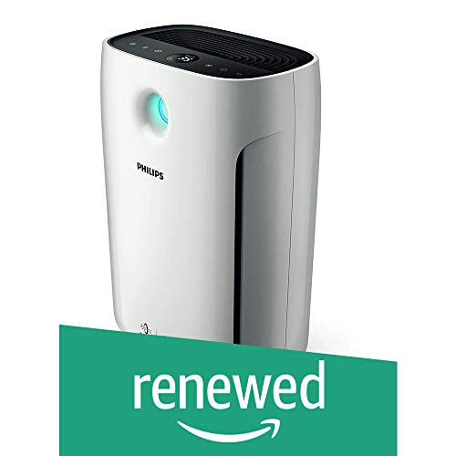 (Renewed) Philips 2000 Series AeraSense AC2887/20 56-Watt Air Purifier (White)