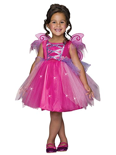 Barbie Light-Up Fairy Dress Costume, Toddler -