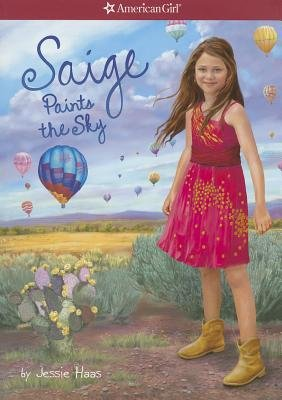 Saige Paints the Sky[AG-SAIGE PAINTS THE SKY][Paperback]