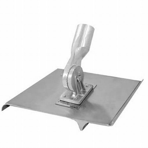 Kraft Tool CC664 Single Edger Groover Stainless Steel 8-Inch by 6-Inch with 2-Inch Shiner 7/8-Inch Bit and 3/4-Inch Radius