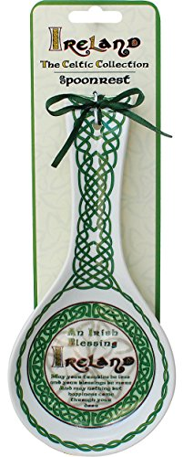 - Celtic Collection Spoon Rest With Irish Blessing Design