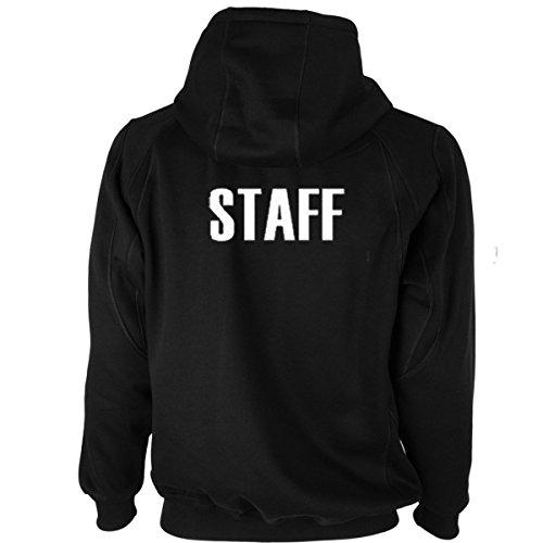 Got Tee- STAFF Sweatshirt/ Hoodie Two Sides Print 3XL Black