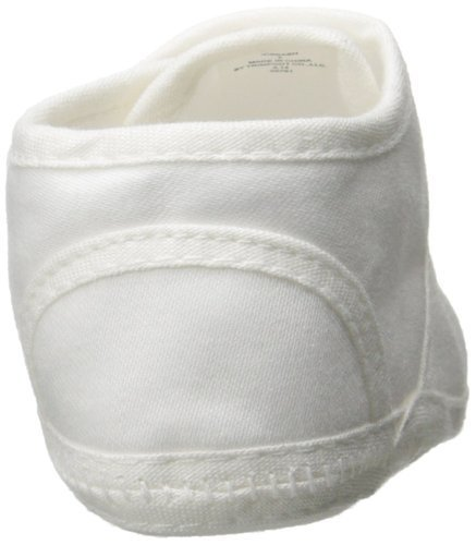 Little Things Mean A Lot Boys Cotton Shoe with Button Closure