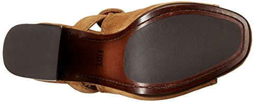 Cheapest cheap online discount best place Frye Karissa Shield Sling Women US 6.5 Tan Slingback Sandal brand new unisex cheap price hOUrg