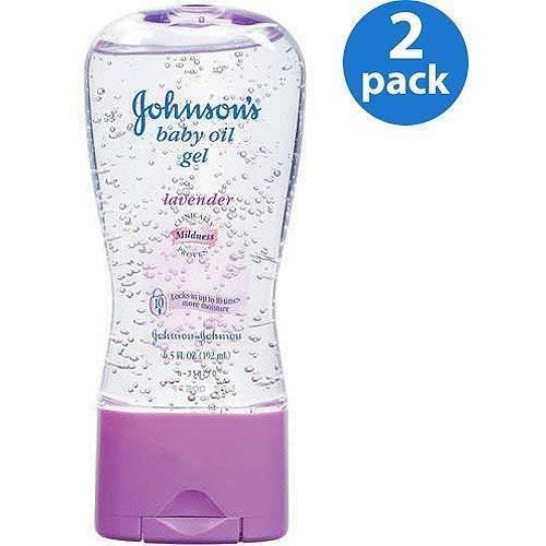 Johnson's – Lavender Baby Oil Gel, 6.5 oz, 2-Pac