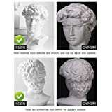 WaNana 5.9''-7.48'' Plaster Bust Statue Resin