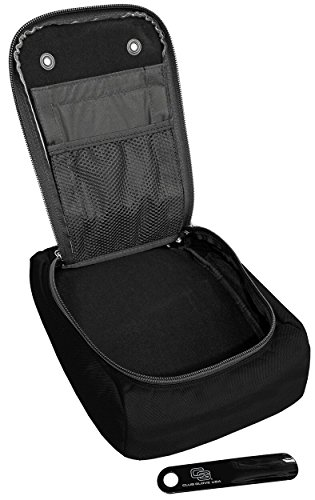 Club Glove Golf Shoe Bag II (Black) -