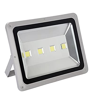 Julitech 50W-200W LED Flood Light, Waterproof IP66, 6500Lm, Super Bright Outdoor LED Flood Lights For Playground, Garage, Garden, Lawn And Yard Model