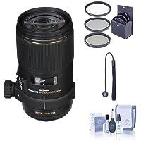Sigma 150MM F2.8 EX DG OS HSM APO Macro Lens BUNDLE for Canon EOS, #106101