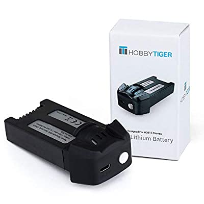 HOBBYTIGER 3.7V 1000mAh Flight Battery for H301S Ranger, Potensic T18 GPS FPV Drone Original Battery by HOBBYTIGER