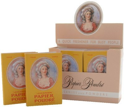 Papier Poudre Oil Blotting Papers - Rachel 1 Box (12 Booklets) by Papier Poudré by Papier Poudr? (Image #1)