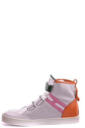 Hogan Hi Top Sneakers Donna MCBI148179O Pelle Bianco