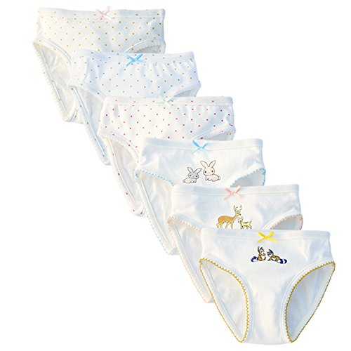 Benetia Toddler Underwear Girls Cotton 3t 4t