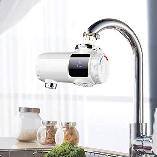 加熱機能キッチンエッセンシャルを用いた高速電気暖房タップインスタント暖房の蛇口LEDデジタル表示金具バース