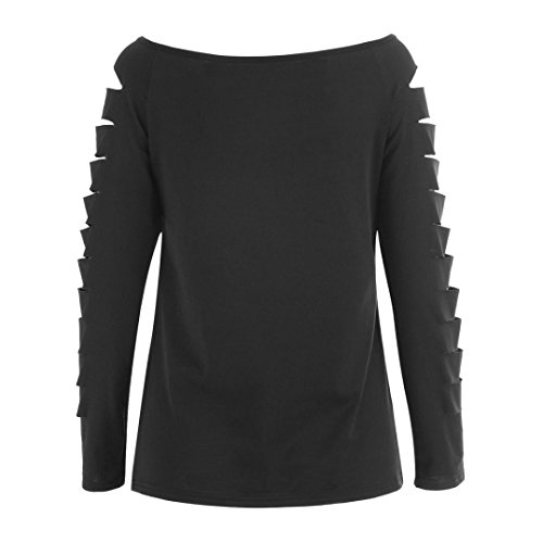 Femme Sexy Tops Manches Sweat Chemisier Shirt Top Debardeur Beikaord à Gilet Manches Top Noir Femme Longues T Shirt Crop Chemisier Blouse Longues Tops à T O7fqxEd