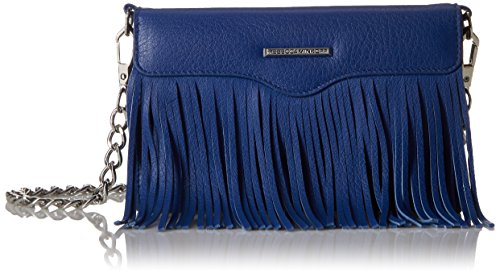 Rebecca Minkoff Universal Fringe Crossbody Iphone 6 Galaxy S6 Phone Wristlet, Cobalt, One Size by Rebecca Minkoff
