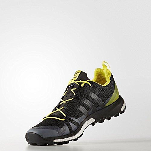 adidas Terrex Agravic, Scarpe da Escursionismo Uomo, Nero (Negbass/Amabri), 44 EU