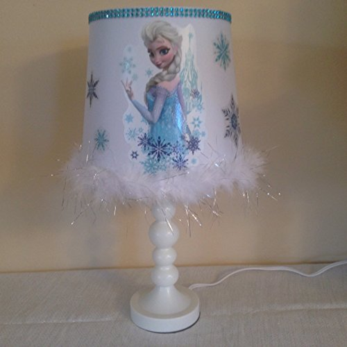 Disney Frozen Elsa Lamp Bedroom Night Light Custom Buy