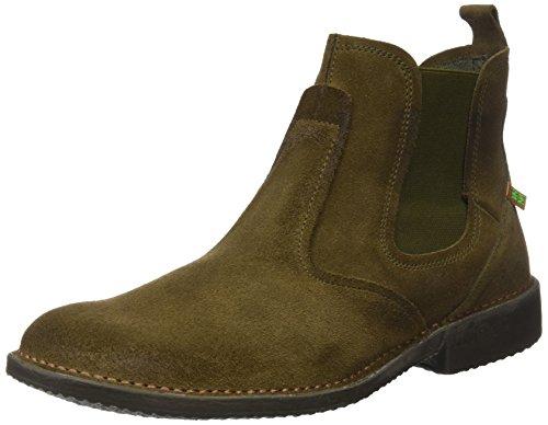 El Naturalista Herren Ng24 Lux Suede Kaki/Yugen Chelsea Boots Grün (Kaki)