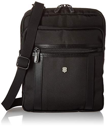 Victorinox Werks Professional Crossbody Tablet Bag Laptop Messenger, Black, One Size (Victorinox Laptop Messenger Bag)