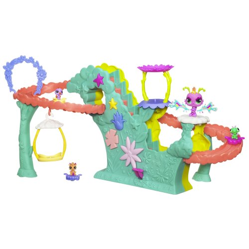 Hasbro Littlest Pet Shop Fairies Fairy Fun Rollercoaster ...
