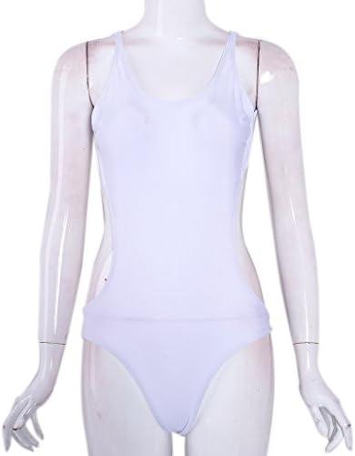 Badeanzug mit Deckel xl weiß