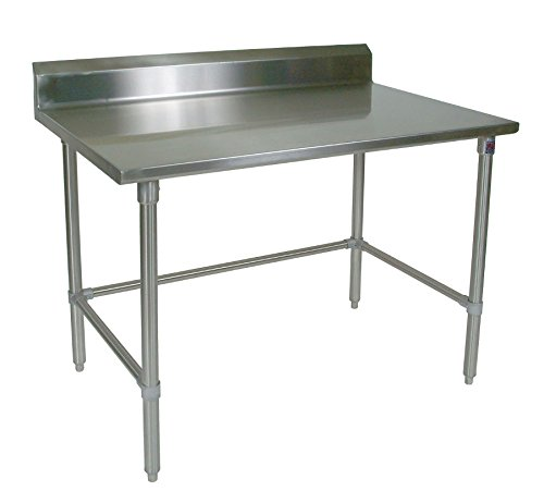 John Boos ST6R5-2436SBK 16 Gauge Stainless Steel Work Table with 5
