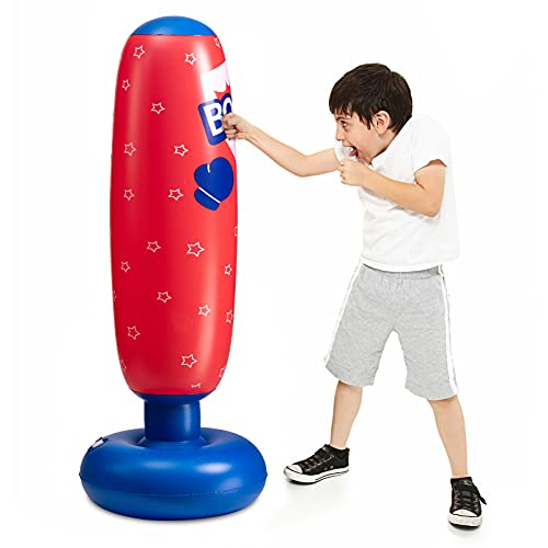 MATICO Inflatable Punching Tower Bag Boxing